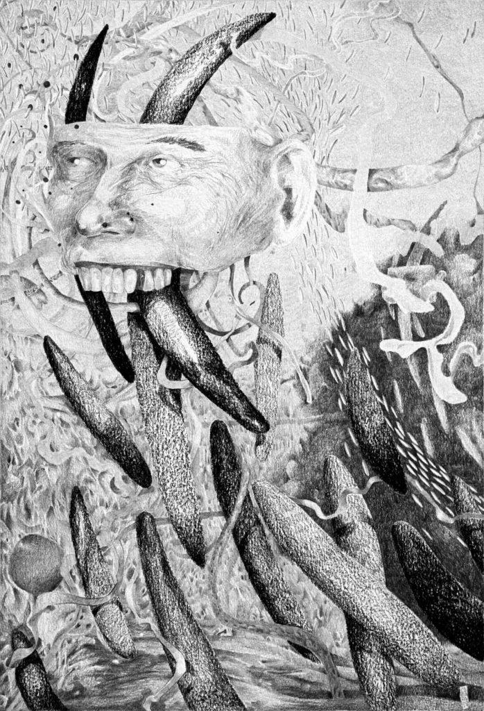 Grafito sobre papel - 26 x 36 cm