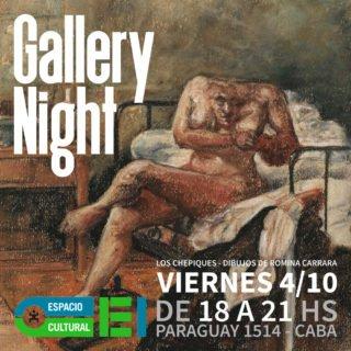 Los chepiques en Gallery Night